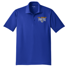 CM Bradley Staff 2018 Royal Mens Polo Shirt